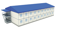 Институт экономики и антикризисного управления - иконка «общежитие» в Новых Бурасах